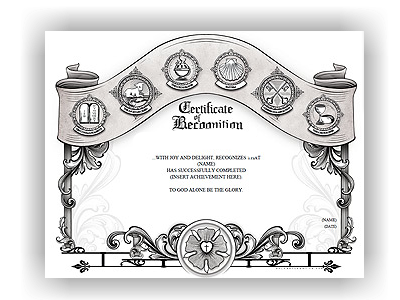 Wolfson Congregational Certificate of Recognition (unlimited printing)