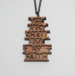 Kelly's Live By Faith Necklace