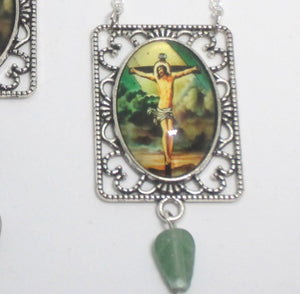 Kelly's A Trio of Crucifixion Scenes Ornament Gift Bundle