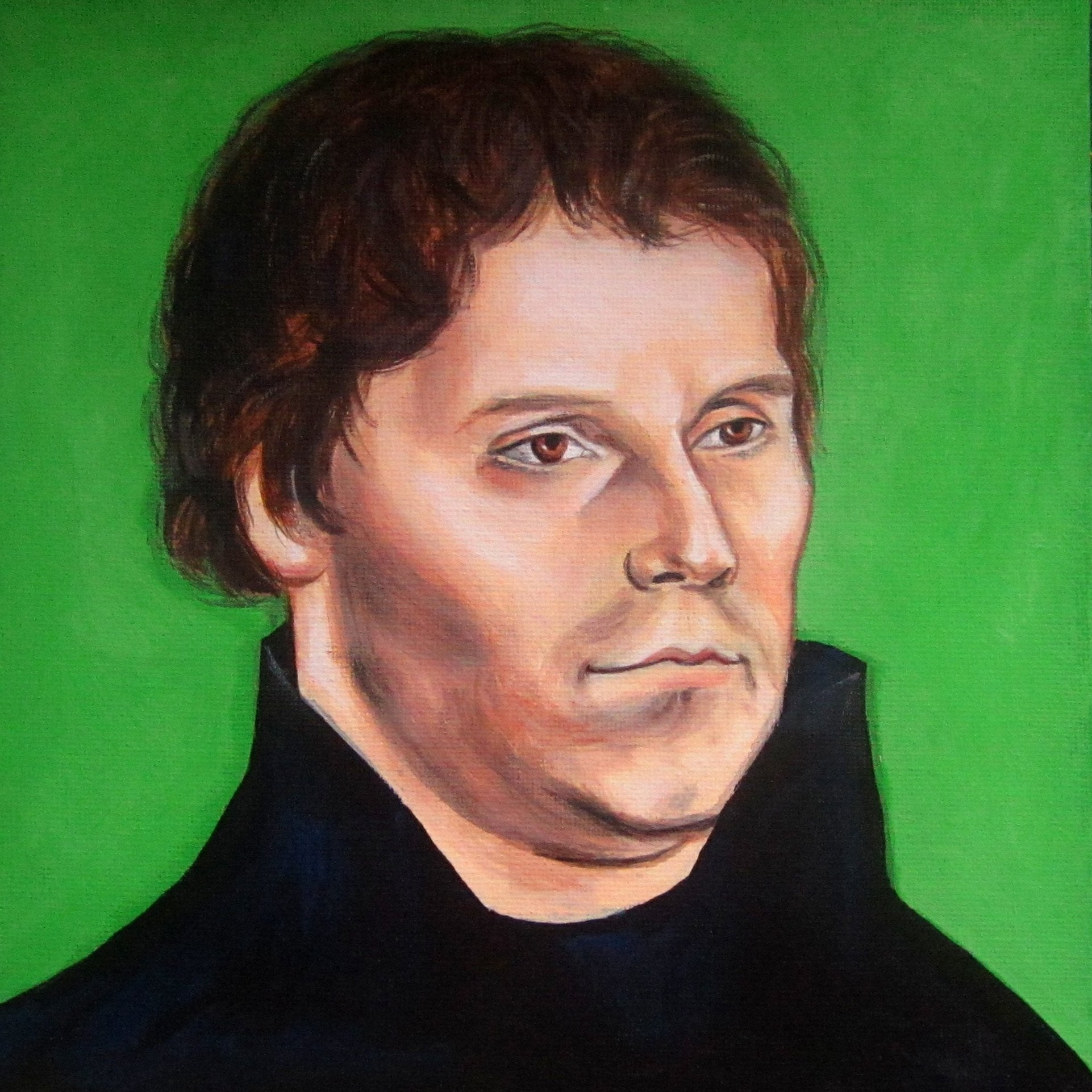 Kelly Klages Martin Luther Painting Acrylic