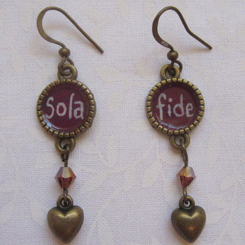 Sola Fide Earrings