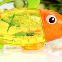 Temperature Changing Color Cute Fish Kids Baby Bath Swimming Water Sprinkler Toy