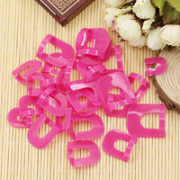 26 Pcs Nail Polish Edge Anti-Flooding Template Clips + 1 Pc Sticker Tool Set