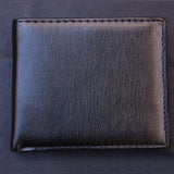 Men Business Faux Leather Wallet Card Holder Clutch Pocket Slim Purse Gift