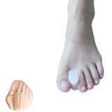 2Pcs Silicone Toe Straightener Separator Bunion Corrector Pain Relief Foot Care