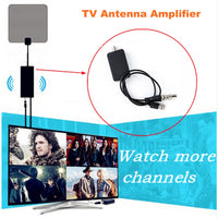 TV Antenna Amplifier Signal Booster for Cable TV Aerial Adapter USB Low Noise Easy Installtion Digital HD DVB-T2 ATSC