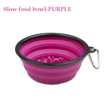 Portable Folding Silicone Dog Bowls. 350ml/1000ml Available.