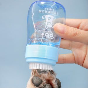 PETSHY Portable Dog Paw/Claw Cleaner. Silicone Cup.