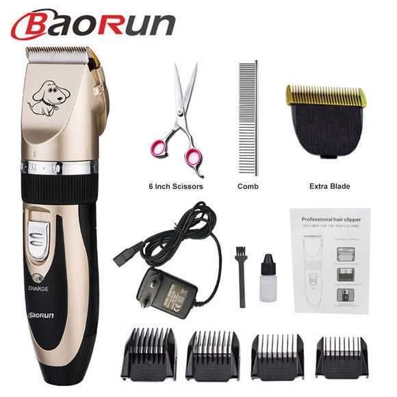 BAORUN Professional Dog Hair Shears. Machine Shaver Electric. 110-240 V AC