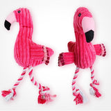 Various Fun Squeaky Dog Chew Toys in Animal Shapes. Non Stuffed.