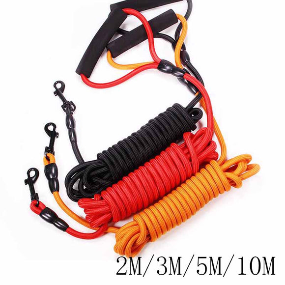 2M/3M/5M/10M Long Nylon Dog Leash. Durable Outdoors Mountaineering Rope.