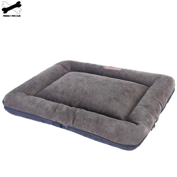 Soft Dog Bed Mattress for Floor or Crate. Washable Cloth with Anti-slip Bottom.