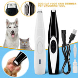 Dog Paw Pad Trimmer. USB Rechargable.