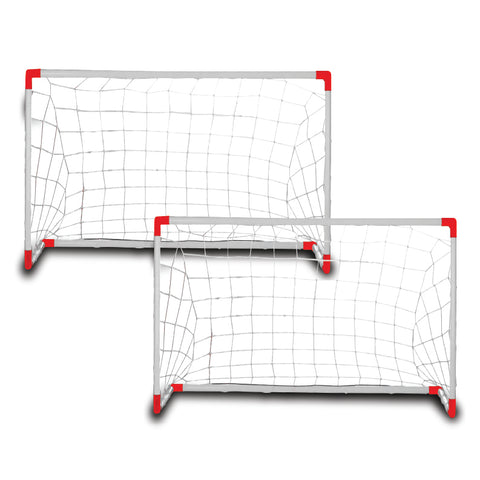 Champ Celebrations® 2'x3' Backyard Soccer Goals for Kids - Set of 2
