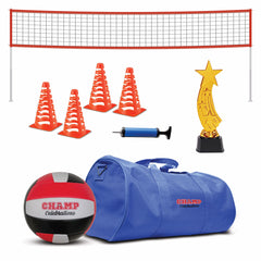 Champ Celebrations® Ultimate Volleyball Game Set, Sports Party Bag For Kids