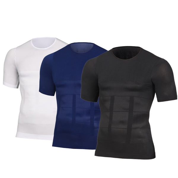 Mens Slimming Posture Correction Shirt