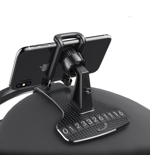 Cell Phone Holder with HUD Simulation Design