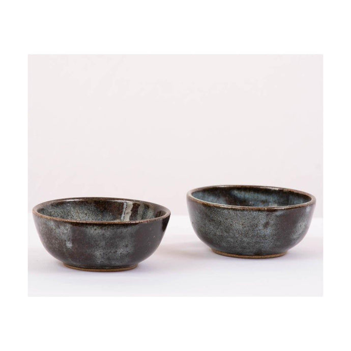 Stoneware small serving Bowl - Set of 2pcs - Paakhee - Handcrafting Dreams