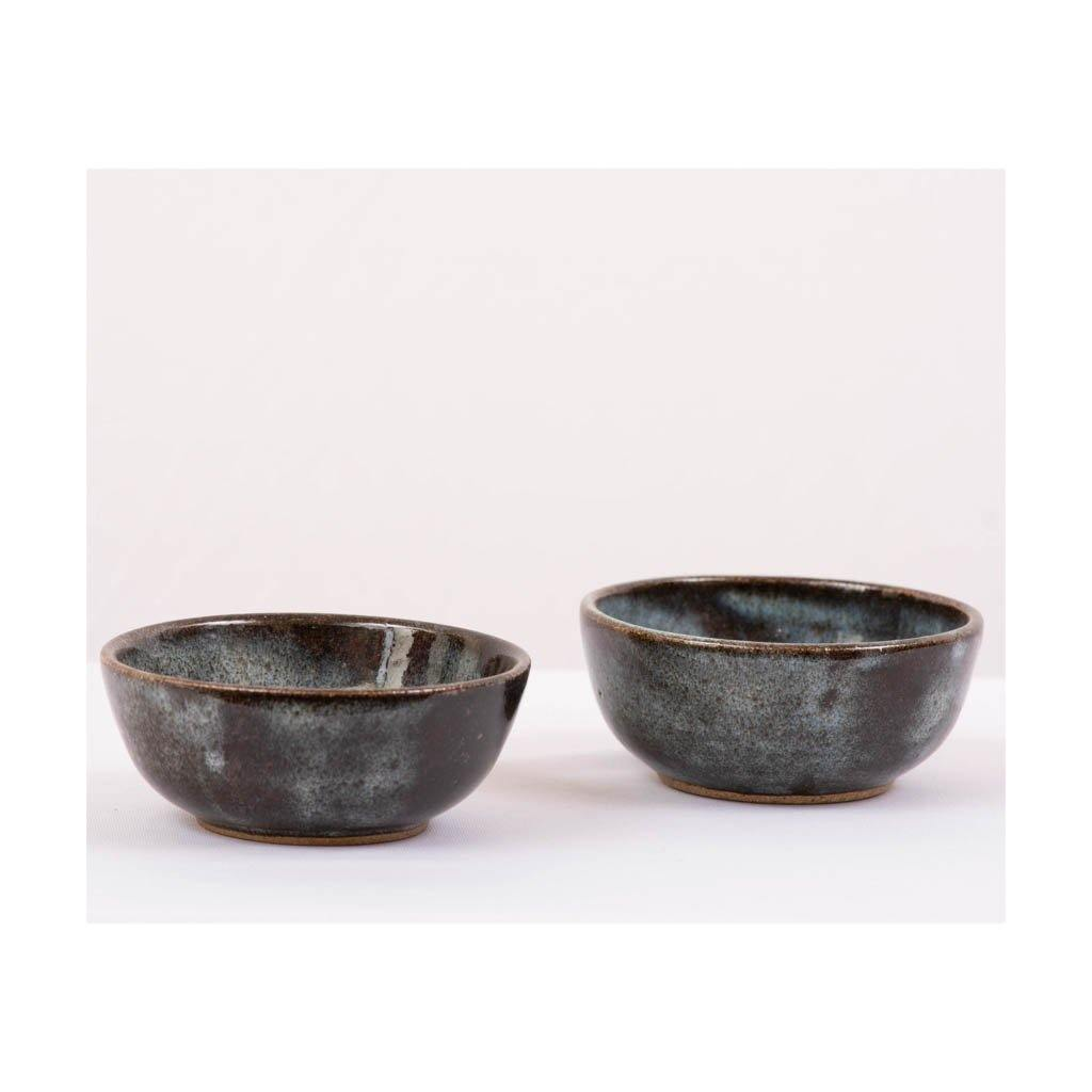 Stoneware small serving Bowl - Set of 2pcs