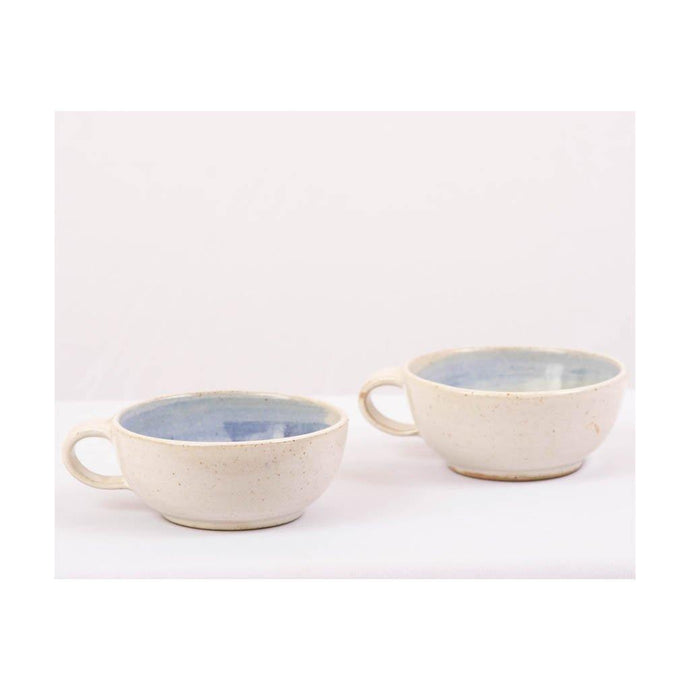 Stoneware Snack & Soup Bowl - Set of 2pcs - Paakhee - Handcrafting Dreams