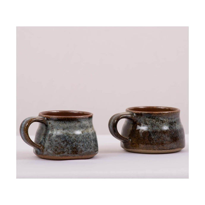 Studio stoneware Cup - Set of 2 - Paakhee - Handcrafting Dreams