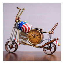 Load image into Gallery viewer, Table top bike clock - Paakhee - Handcrafting Dreams