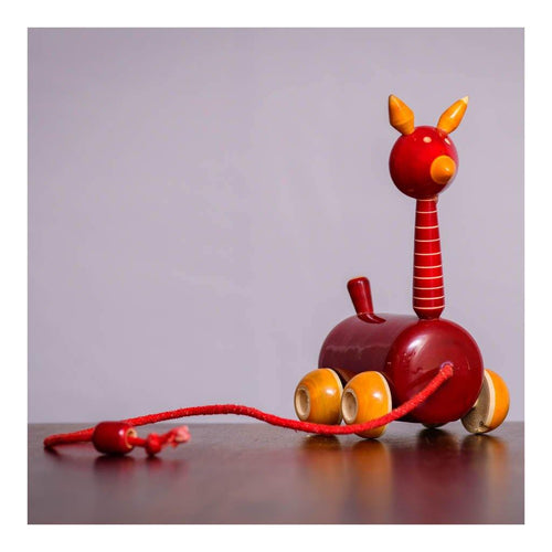 Wooden Toy Giraffe - Paakhee - Handcrafting Dreams