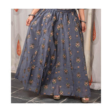 Load image into Gallery viewer, Cotton Silk Ethnic Skirt Top Set
