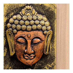 Key Holder | Buddha Theme | Wall Art | Rajasthan Handicraft - Paakhee - Handcrafting Dreams