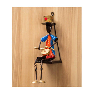 Wall mount musician - Set of 3 - Paakhee - Handcrafting Dreams