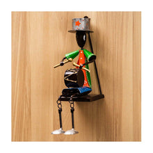 Load image into Gallery viewer, Musician Figurine | Wall Mount | Set of 3 | Rajasthan Handicraft - Paakhee - Handcrafting Dreams