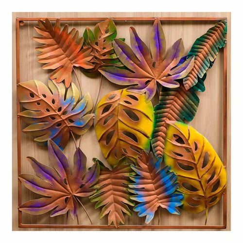 Patch of leaves | Wall Art | Rajasthan Handicraft | Made of Metal - Paakhee - Handcrafting Dreams