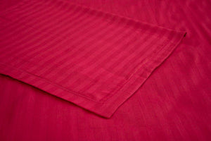 Soft cotton Nile Striped Bedsheet - Pink