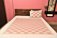 Load image into Gallery viewer, Soft cotton Ajarakh Bedsheet