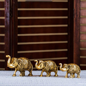 Elephant Herd - Set of 3