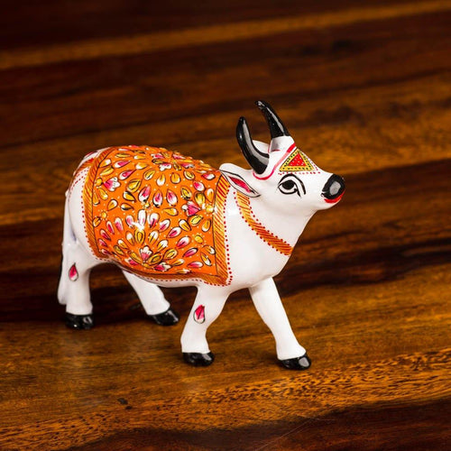 White Cow - Paakhee - Handcrafting Dreams