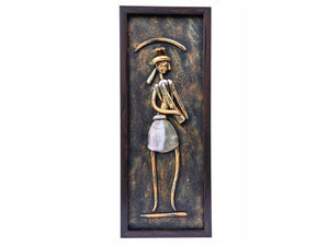 Mural Painting | Wall Art | Trumpet Player | West Bengal Handicraft - Paakhee - Handcrafting Dreams