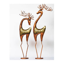Load image into Gallery viewer, Reindeer - Set of 2 - Male & Female - Paakhee - Handcrafting Dreams