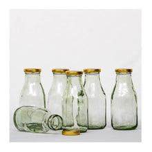Load image into Gallery viewer, Glass Bottle - 250ml - Set of 6 - Paakhee - Handcrafting Dreams