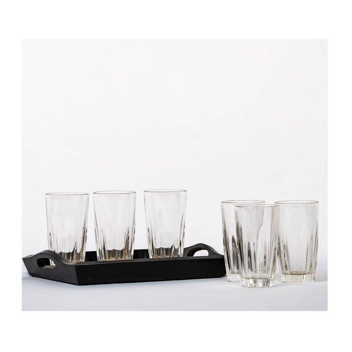 Plain water glass - Set of 6 - 150ml - Paakhee - Handcrafting Dreams
