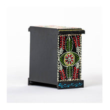 Load image into Gallery viewer, Ceramic Drawer with wooden frame - 4 drawer - Black base - Paakhee - Handcrafting Dreams