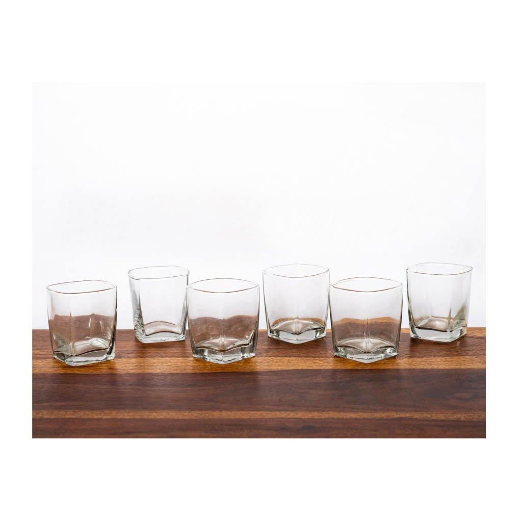 Whiskey Glass - Set of 6 - 100ml - Paakhee - Handcrafting Dreams