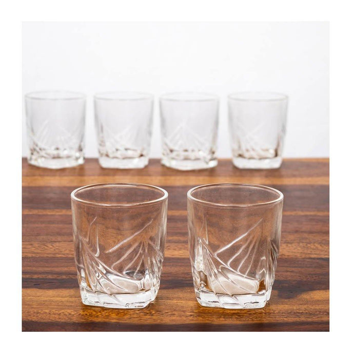 Designer whiskey glass - Set of 6 - 100ml - Paakhee - Handcrafting Dreams