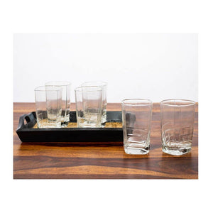 Plain drinking glass - 200ml approx - Paakhee - Handcrafting Dreams