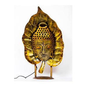 Buddha on leaf - Paakhee - Handcrafting Dreams