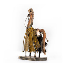 Load image into Gallery viewer, Gladiator Horse - Set of 2 - Large & Small - Paakhee - Handcrafting Dreams