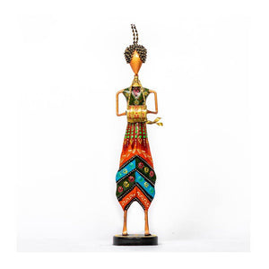 Multi coloured pagdi musician - Set of 3 - Paakhee - Handcrafting Dreams
