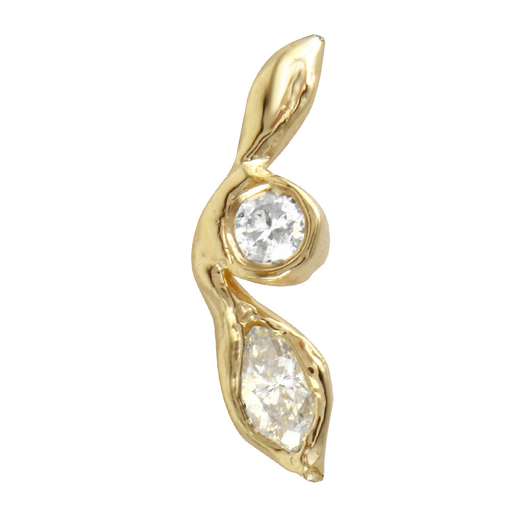 Breathe Diamond Earring