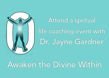 Learn about the Garnder Institute's Spiritual Life Coaching Events
