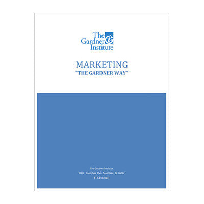 Marketing - The Gardner Way (PDF Download)